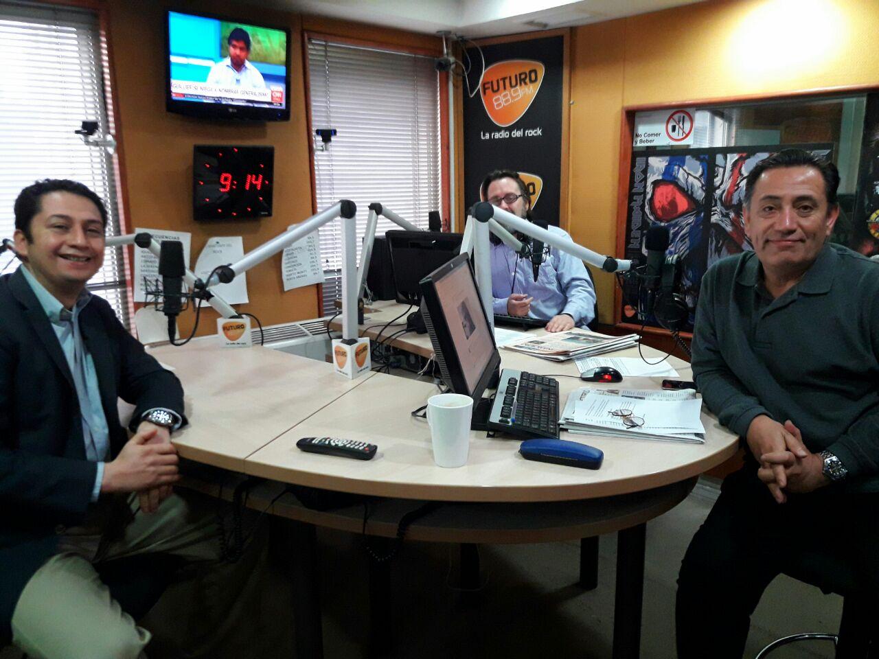 Entrevista a Diego Ancalao en Radio Futuro