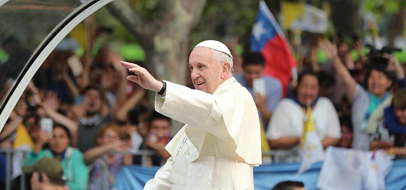 Diego Ancalao en CNN Chile por visita del Papa a La Araucanía