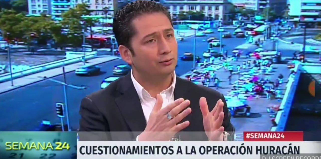 Diego Ancalao en Canal 24 Horas TVN por Operación Huracán