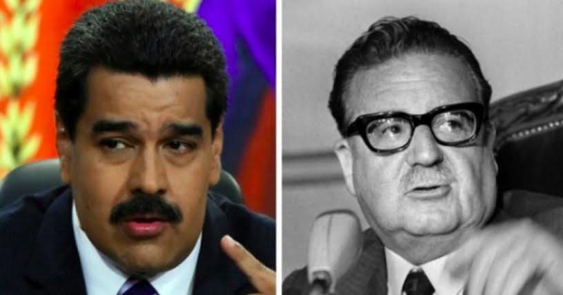Maduro y los hijos pródigos de Salvador Allende en Chile