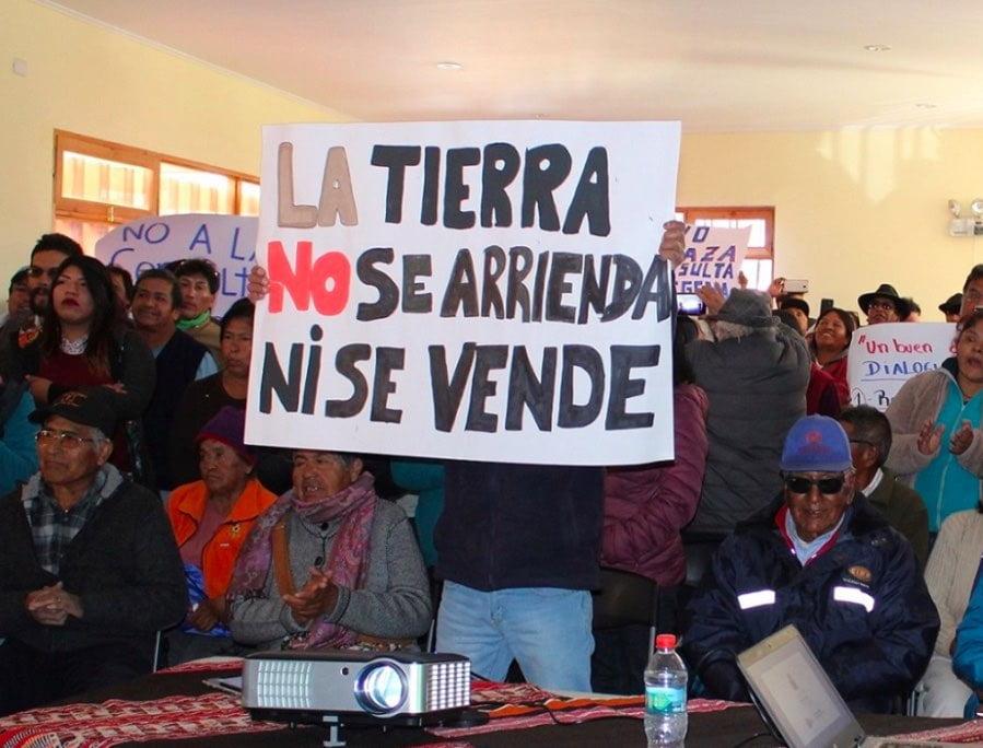 La consulta indígena y la privatización de las tierras Mapuche