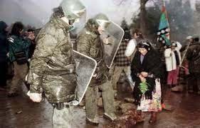 Un nuevo intento de deslegitimar la lucha del Pueblo Mapuche y  Establecer una política de represión sistemática