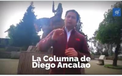 [Opinión] Diego Ancalao, desde la estatua de Pelantaro , desenmascara política comunicacional del gobierno de Piñera en contra del pueblo-nación Mapuche
